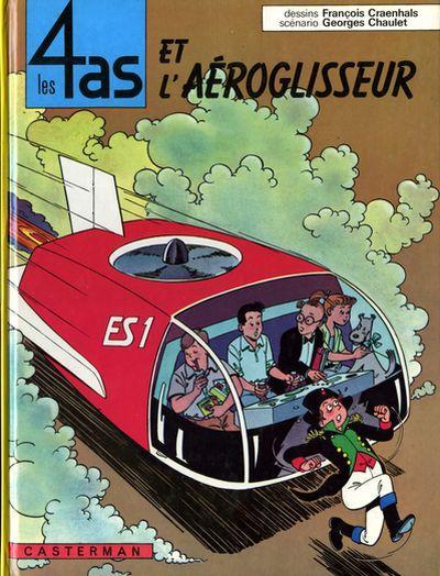 4 AS (LES) - Les 4 as et l'aéroglisseur  - Tome 2 (c) - Grand format