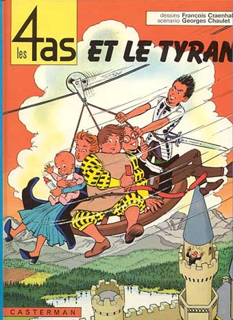 4 AS (LES) - Les 4 as et le tyran  - Tome 10 (c) - Grand format
