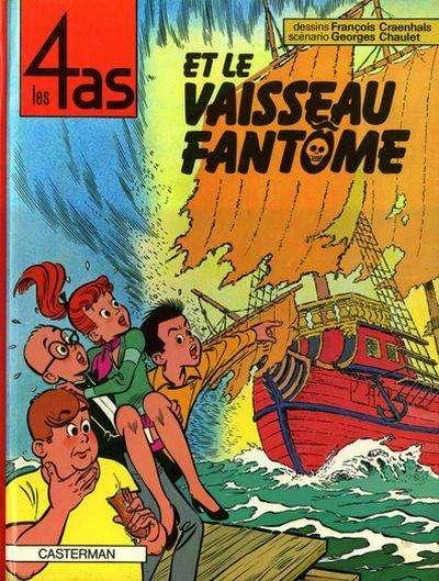 4 AS (LES) - Les 4 as et le vaisseau fantôme  - Tome 16 - Grand format
