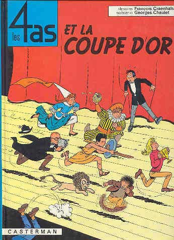 4 AS (LES) - Les 4 as et la coupe d'or  - Tome 6 (c) - Grand format