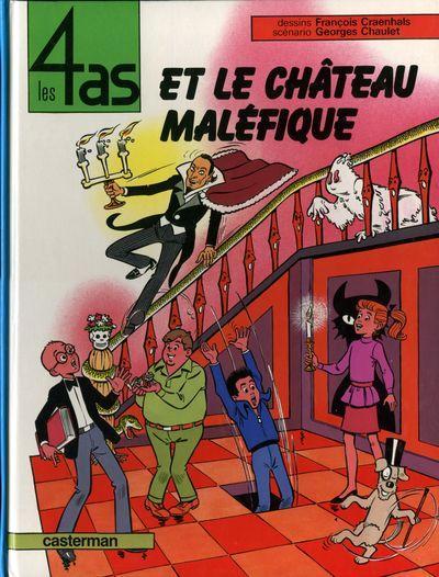 4 AS (LES) - Les 4 as et le chateau maléfique  - Tome 20 (b) - Grand format