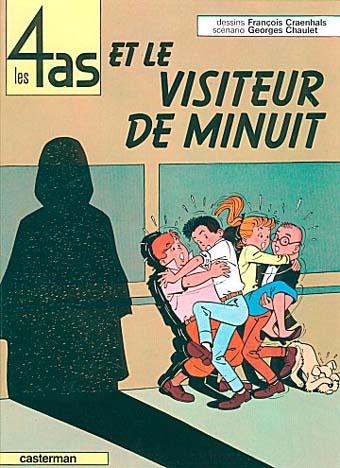 4 AS (LES) - Les 4 as et le visiteur de minuit  - Tome 4 - Grand format