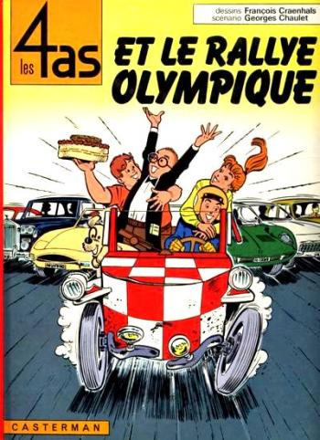 4 AS (LES) - Les 4 as et le rallye olympique  - Tome 8 (c) - Grand format