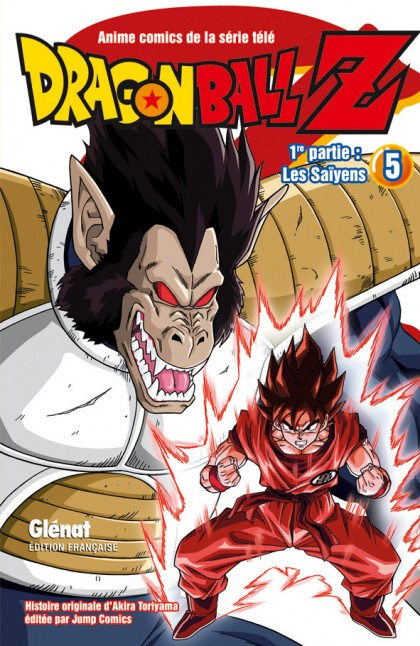 Dragon Ball Z 1re partie : Les Saïyens  - Tome 5