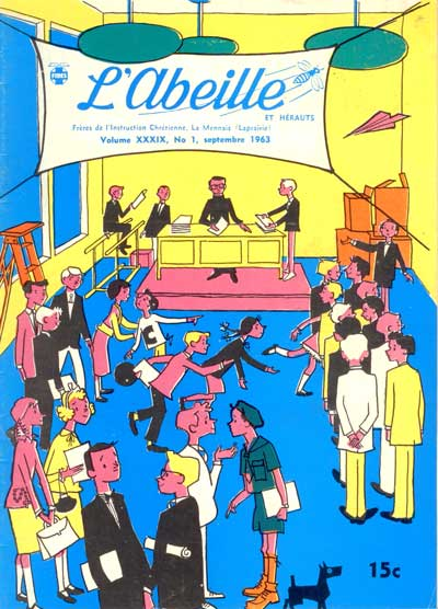 Abeille (l')  -  Vol. XXXIX - No. 1  - Tome 34 (1)