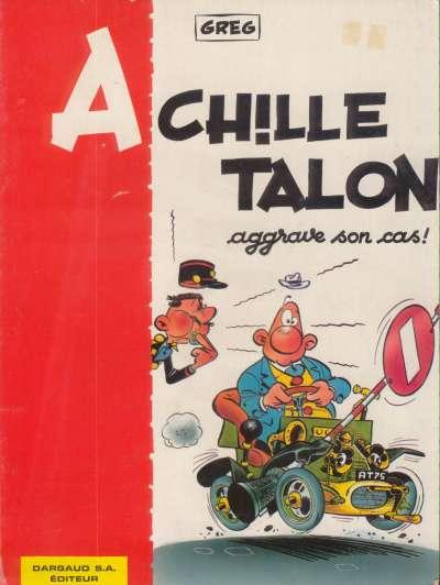 ACHILLE TALON - Achille Talon aggrave son cas  - Tome 2 (b) - Grand format