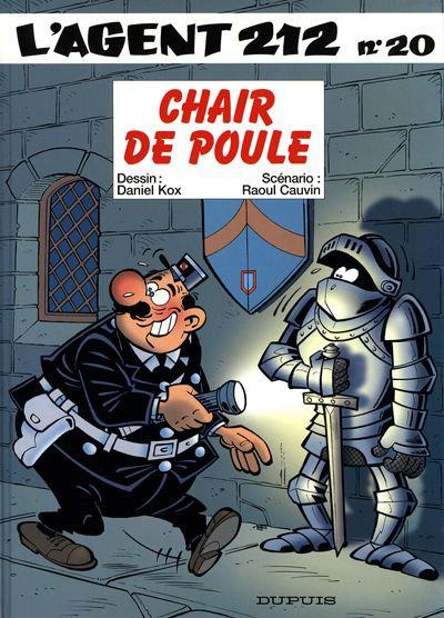 AGENT 212 (L') - Chair de poule  - Tome 20 - Grand format