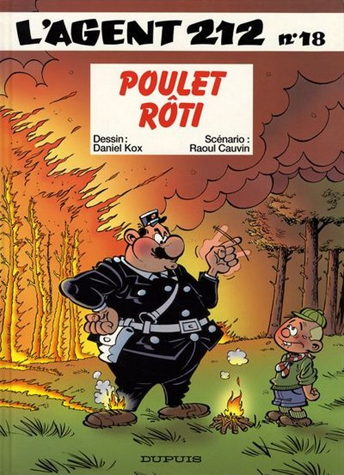 AGENT 212 (L') - Poulet rôti  - Tome 18 - Grand format