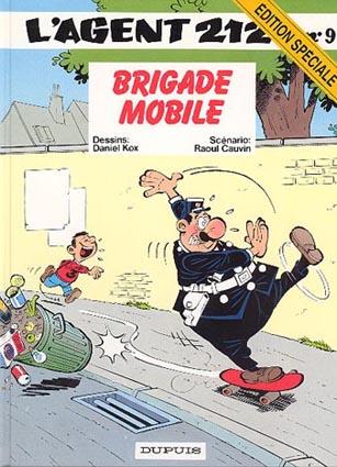 AGENT 212 (L') - Brigade mobile  - Tome 9 (ES) - Grand format