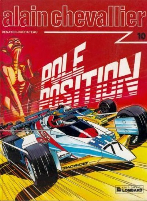 Alain Chevallier  -  Pole position  - Tome 17 (10)