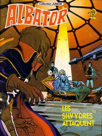 ALBATOR - Les silvydres attaquent  - Tome 8 - Grand format