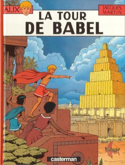 ALIX - La tour de Babel  - Tome 16 (c) - Grand format
