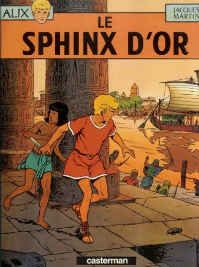 ALIX - Le sphinx d'or  - Tome 2 (b) - Grand format
