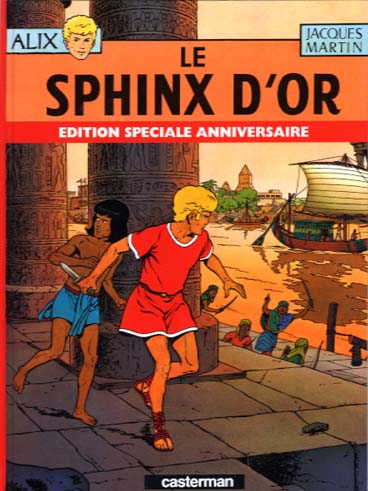 ALIX - Le sphinx d'or  - Tome 2 (Sp) - Grand format