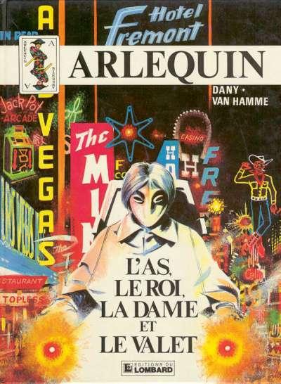 ARLEQUIN - L'as, le roi, la dame et le valet  - Tome 2 - Grand format