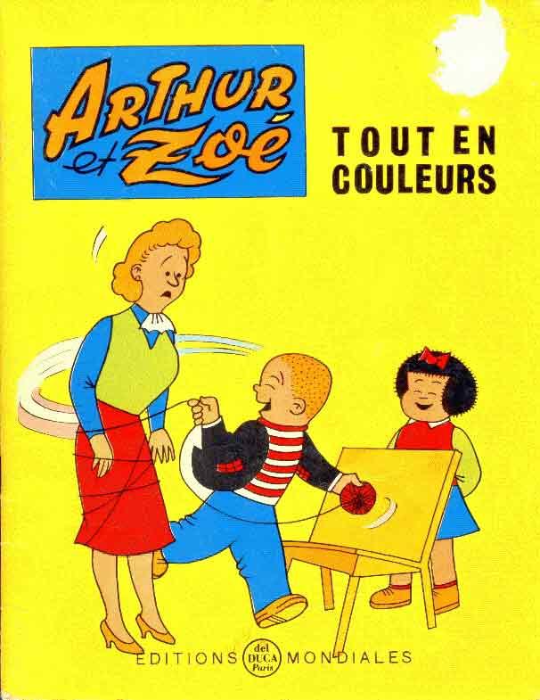 ARTHUR ET ZOÉ - Le collier de minou  - Tome 9 - Grand format