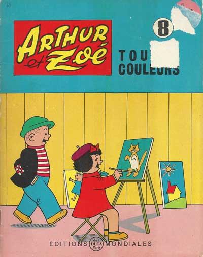 ARTHUR ET ZOÉ - Arthur remonte sa garde-robe  - Tome 8 - Grand format