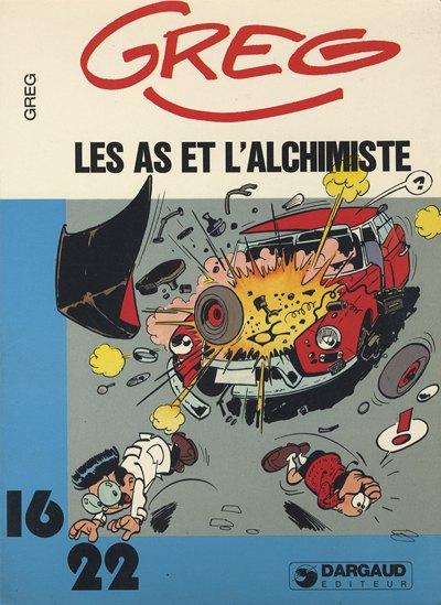 AS (LES) (16/22) - Les As et l'alchimiste  - Tome 4 (116) - Grand format