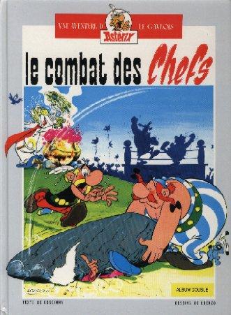 ASTÉRIX (FRANCE LOISIRS) - Le combat des chefs / Astérix chez les bretons  - Tome 4 - Grand format