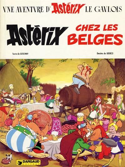 ASTÉRIX - Astérix chez les Belges  - Tome 24 - Grand format