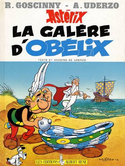 ASTÉRIX - La galère d'obélix  - Tome 30 - Grand format