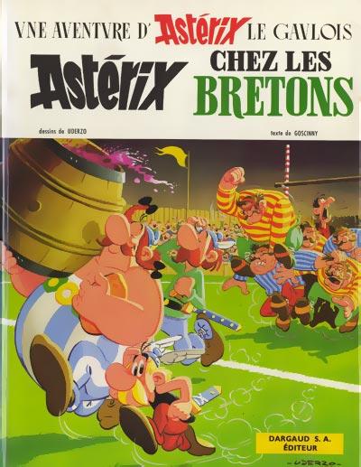 ASTÉRIX - Astérix chez les Bretons  - Tome 8 (c) - Grand format