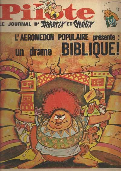 (RECUEIL) PILOTE (ALBUM DU JOURNAL - EDITION BELGE - Un drame biblique  - Tome 17 - Grand format