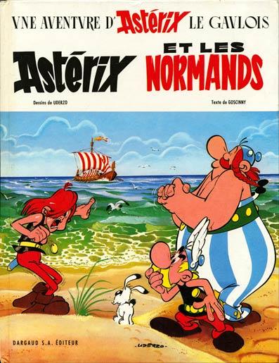 ASTÉRIX - Astérix et les Normands  - Tome 9 - Grand format