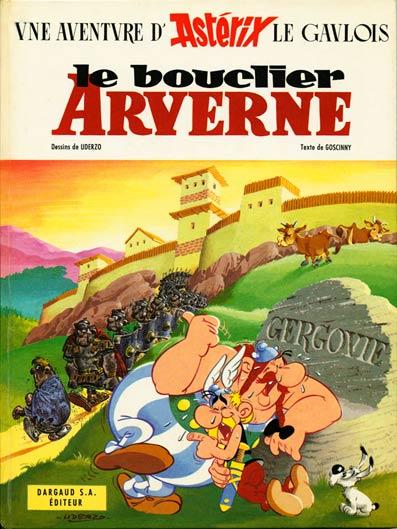 Astérix Le bouclier arverne  - Tome 11