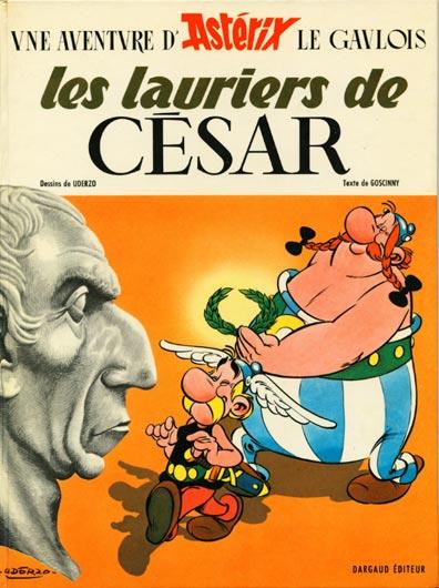 ASTÉRIX - Les lauriers de César  - Tome 18 - Grand format