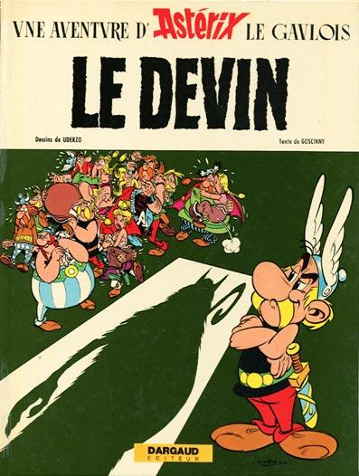 ASTÉRIX - Le devin  - Tome 19 - Grand format