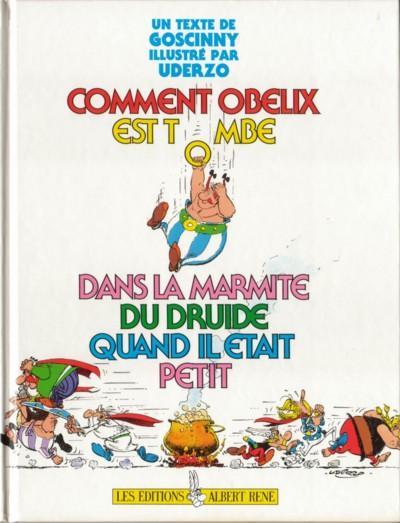ASTÉRIX (HORS SÉRIE) - Comment Obélix est tombé dans la marmite  - Tome 1 - Grand format