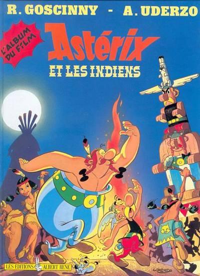 ASTÉRIX (HORS SÉRIE) - Astérix et les indiens (L'album du film) (C4) - Grand format