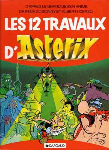 ASTÉRIX (HORS SÉRIE) - Les 12 Travaux d'Asterix (C1a) - Grand format