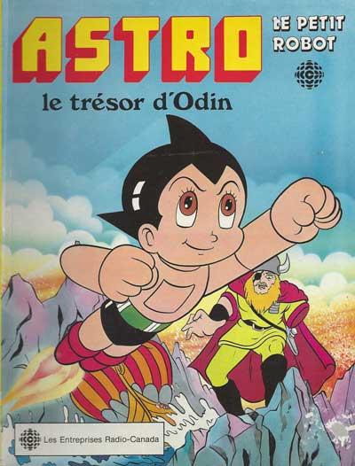 ASTRO LE PETIT ROBOT - Le trésor d'Odin  - Tome 2 - Grand format