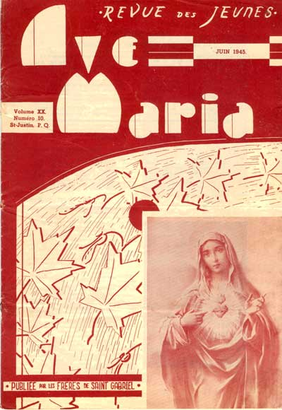 Ave Maria  -  Volume XX - No 10  - Tome 20 (10)