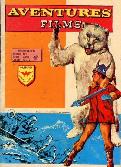 AVENTURES FILMS - Aventure dans la neige  - Tome 14 - Moyen format
