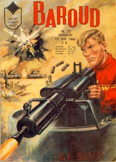 BAROUD (AS DE CARREAU) - Un dossier pour les nazis  - Tome 25 - Moyen format