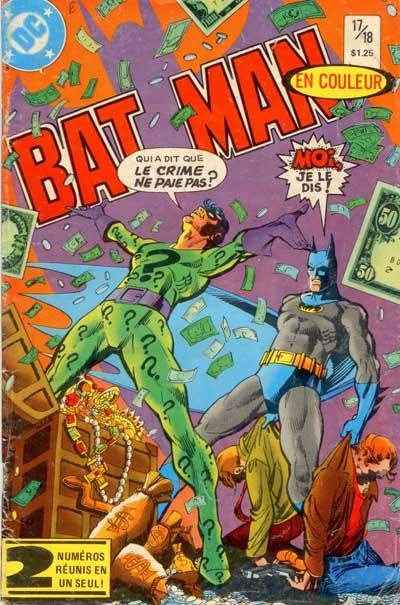 BATMAN (DC-HÉRITAGE) - Numéro 17/18  - Tome 17 (18) - Moyen format