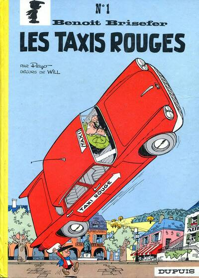 BENOÎT BRISEFER - Les taxis rouges  - Tome 1 (c) - Grand format