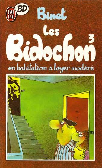 BIDOCHON (LES) - Les Bidochon en habitation à loyer modéré  - Tome 3 (Poch) - Moyen format