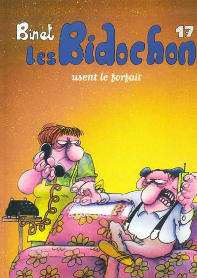 BIDOCHON (LES) - Les bidochon usent le forfait  - Tome 17 - Grand format