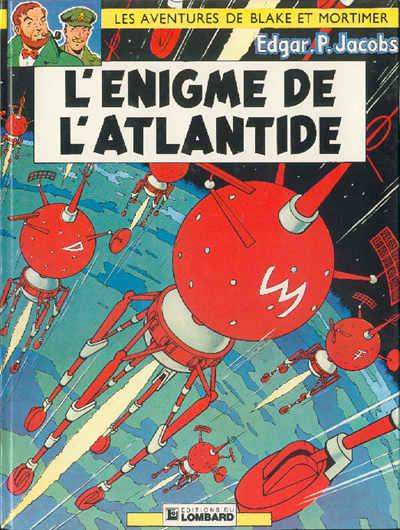 BLAKE ET MORTIMER - L'énigme de l'Atlantide  - Tome 6 (l) - Grand format