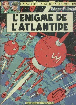 BLAKE ET MORTIMER - L'énigme de l'Atlantide  - Tome 6 (i) - Grand format