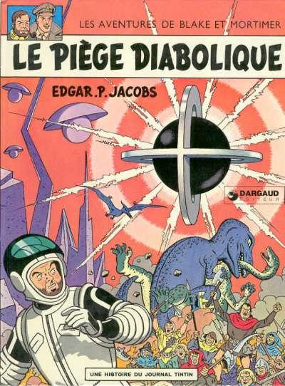 BLAKE ET MORTIMER - Le piège diabolique  - Tome 8 (d) - Grand format