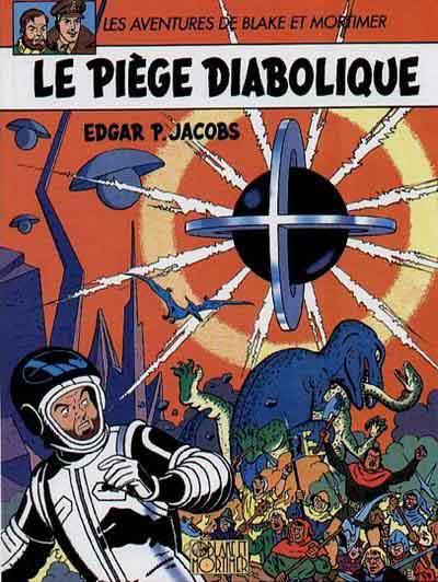BLAKE ET MORTIMER (PUBLICITAIRE) - Le piège diabolique  - Tome 9 (a) - Grand format