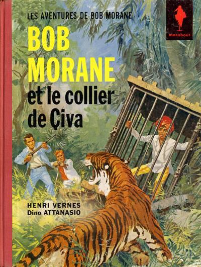BOB MORANE 2 (DARGAUD) - Le collier de Civa  - Tome 4 - Grand format