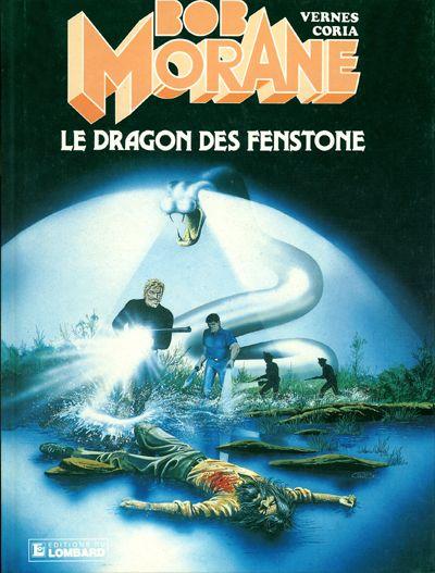 BOB MORANE 3 (LOMBARD) - Le dragon de Fenstone  - Tome 38 - Grand format
