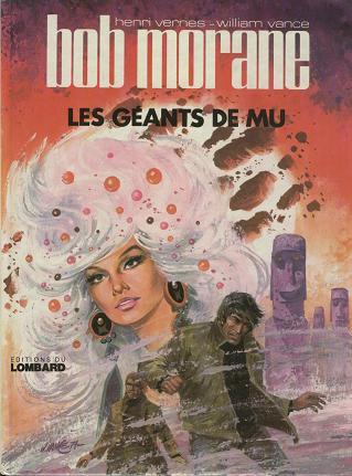 BOB MORANE - LOMBARD - Les géants de Mu  - Tome 20 - Grand format