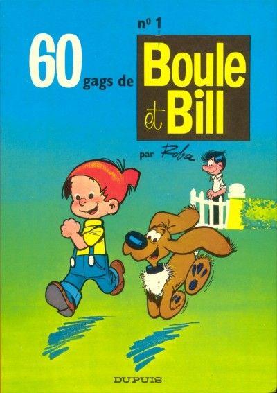 BOULE ET BILL -1- - 60 gags de Boule et Bill n°1  - Tome 1 (b) - Grand format